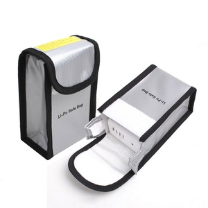 Lipo Battery Safe Bag Portable Protective Pockets For DJI Phantom 4 4 pro 4 pro+ Phantom 3 Batteries BagS(China)