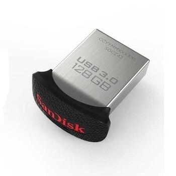 SanDisk USB Flash Pendrive USB 3.0 Pen Drive Stick 128GB 64GB 32GB 16GB Flash Drive USB Key USB Pen Drives Flashdisk 128 GB 64GB