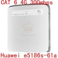 cat6 4g 300MB Huawei E5186 E5186s 61a LTE 4g wifi router 4g lte cpe 4g 3g dongle pk b880 b890 e5172 b593 e5170