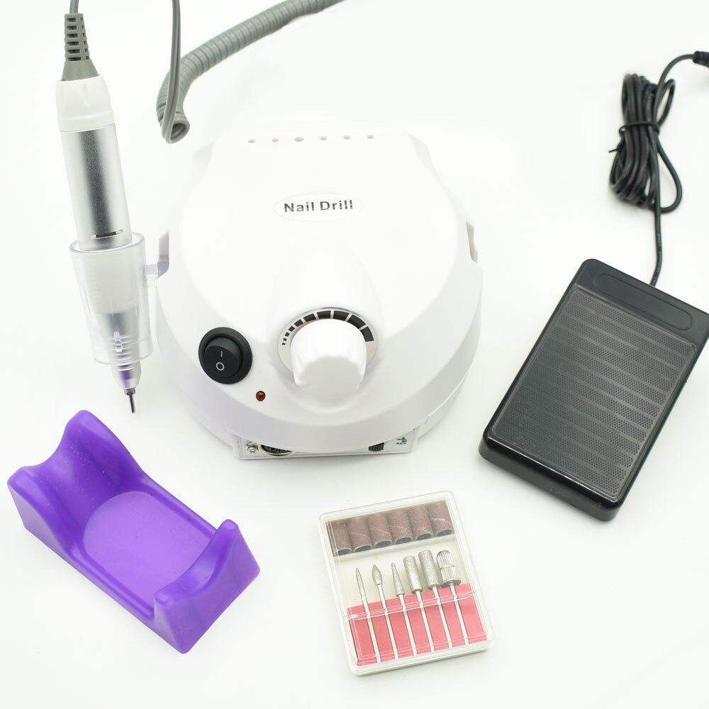30000 rpm Elektrische Nagel Bohren Maniküre Maschine Maschine Datei Kit Nagel Cutter Bit Pediküre Nagel Bohrer Nagel Polierer Werkzeug