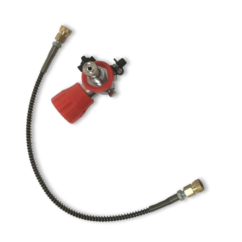 AC8042 Scuba Diving Tank M18*1.5 Valve 4500Psi Quick Release Coupling Dive Tank Refill Gas Cylinder Cylinder Compressed Air