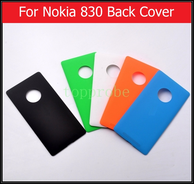 A+ Quality Back Cover For Nokia 830 Battery Door Housing For Microsoft Lumia Nokia 830 Rear Cover Back Case +1pcs Film For Free