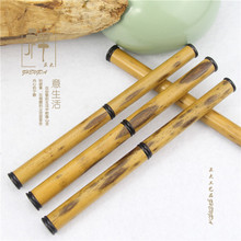A few decades old old bamboo crassipes boutique special Pu'er Tea knife needle tea tea tool stainless steel blade gift