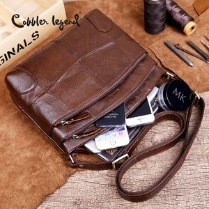 Image 4 - Cobbler Legend sacs en cuir véritable pour femmes grande capacité marque sac à bandoulière dames sacs à bandoulière 2019 nouveau sac à main femme