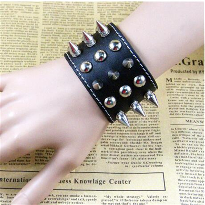 Star Love Punk Rock Alloy Sticker  Bracelets Cosplay Costumes Props Chain Bracelet Middle Ages Accessories