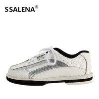 Боулинг легкие туфли мужские высокого качества Боулинг дышащая обувь с нескользящей подошвой особенности шнуровка кроссовки AA11036