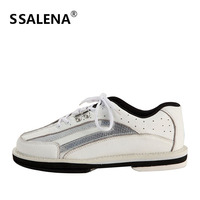 Bowling Lightweight Shoes Men High Quality Bowling Breathable Shoes With Skidproof Sole Feature Lace Up Sneakers AA11036