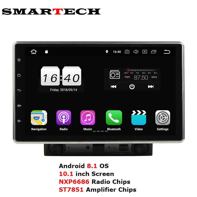 "Rotation 10.1"" Display 2Din Android 8.1 Car stereo radio Universal GPS Navigation For Nissan Toyota Volkswagen Mazda KIA FORD"