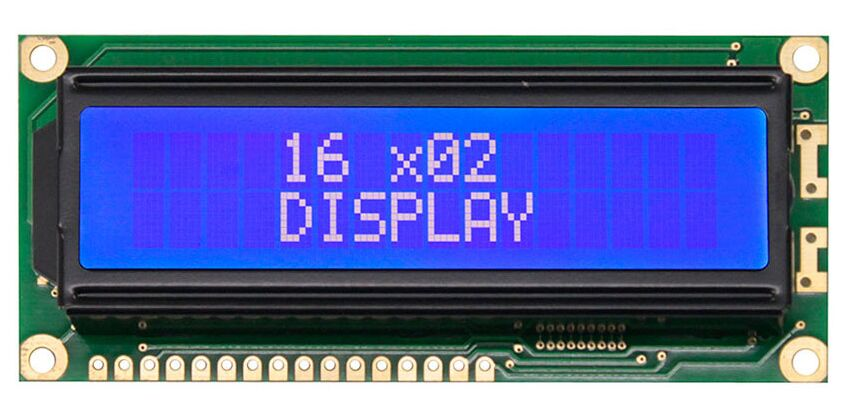 WH1602J WINSTAR 16*2 module 5V which is built in with ST7066 controller IC VATN LCD screen blue backlight new and original