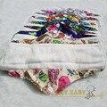 Free shipping orgánica de bambú interior lavable reutilizable higiene femenina almohadilla de tela menstrual pads almohadillas sanitarias lady panty liner1pc