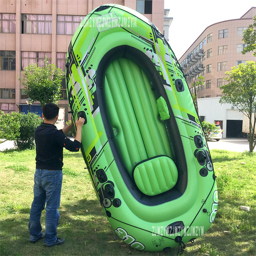 3 Adults+1 Child Inflatable Rowing Boat 4 Persons Super Thickening Inflatable Rowing Boat with Spare Parts 300*145CM цены онлайн