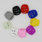 5 Button Silicone rubber Key Case Cover For Lexus GX470 RX350 ES300 RX300 RX400h LS LX NX RC RX SC GS Key