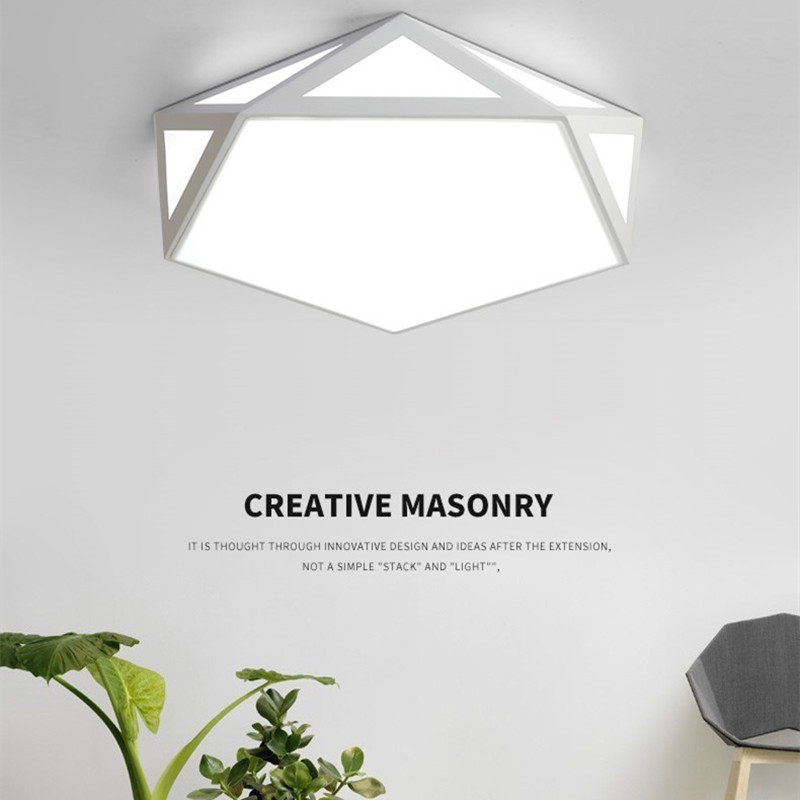 Ceiling Lights Hawboirry Led Ceiling Light Modern Lamp Living Room Lighting Fixture Bedroom Kitchen Surface Mount Flush Panel Remote Control