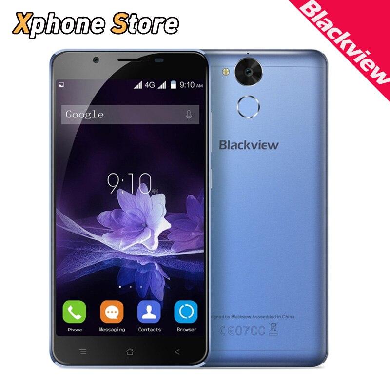 """Цена за Оригинал Blackview P2 RAM 4 ГБ ROM 64 ГБ 4 Г LTE Смартфон 5.5 """"Android 6.0 MTK6750T Octa Ядро 1.5 ГГц с OTG 1920x1080 Мобильного Телефона"""