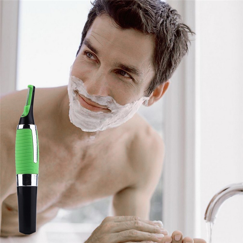 Multifunctional Nose Ear Hair Eyebrow Trimmer Removal Haircut Removal Machine For Man With Led Light