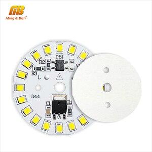 Image 5 - Układ LED SMD2835 15W 12W 9W 7W 5W 3W 220V żarówka LED lampa koralik inteligentny IC nie ma potrzeby kierowcy dla powodzi światła Spotlight Diy oświetlenie