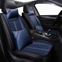 New Couro 8 9 7 Universal tampas de assento auto para Honda accord civic CRV CR V 2017 2016 2015 2014 2013 2012 2011 2010 2009 2008