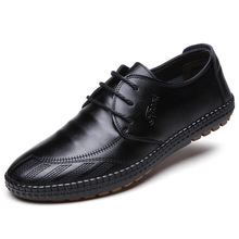 2019 unique and novel striped design mens leather shoes comfortable soft for everyday wear fashion casual men