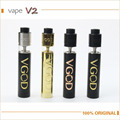 100% VGOD Pro vape mod Mech Mod Kit 24mm de Diámetro autoajustable 510 Conectar con VGOD truco pro tanque cigarrillo electrónico Kits