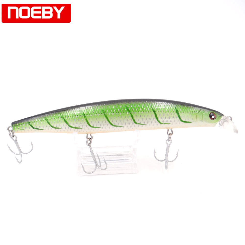 NOEBY Fishing Lure Trolling Minnow Hard Baits 15cm 33g Floating 0-0.5m Jerkbait Isca Artificial Pesca Leurre Peche Wobblers amlucas minnow fishing lure 110mm 9 5g crankbait wobblers artificial hard baits pesca carp fishing tackle peche we266