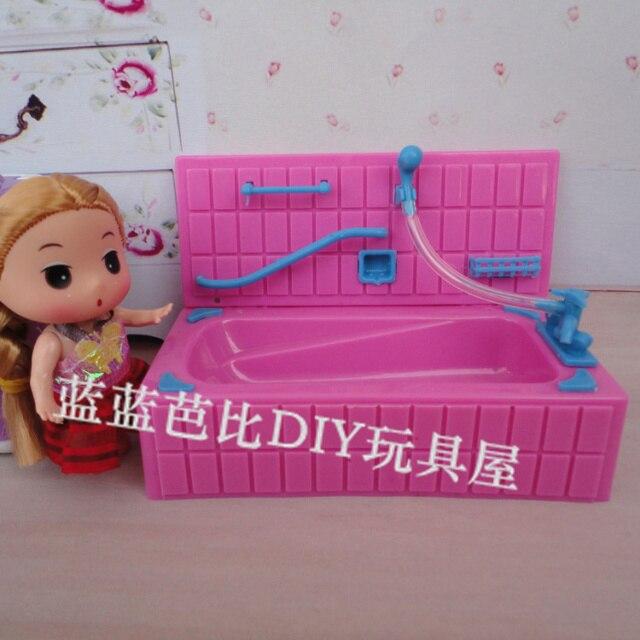 Beste Verkauf Puppen Gehäuse Möbel Traum Bad Große Badewanne Farbe