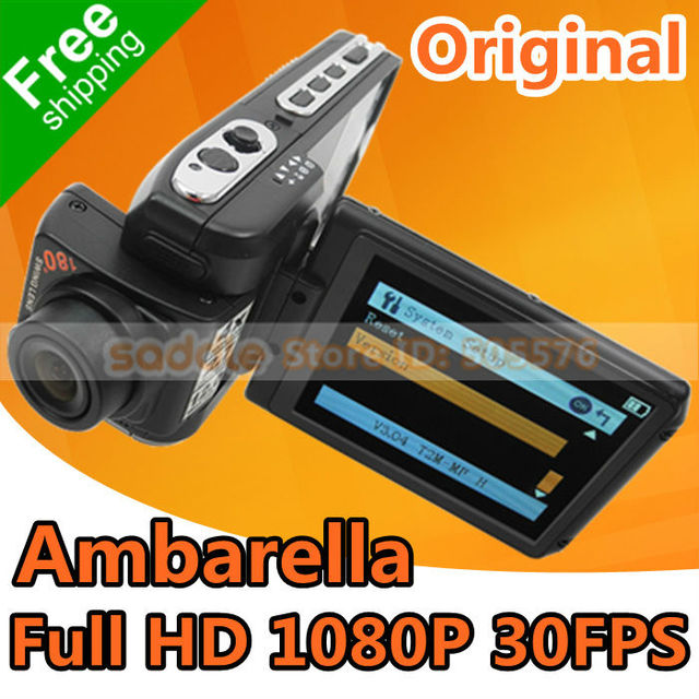 """Black Color Car DVR Original F900LHD with 2.7"""" LCD Full HD 1080P H.264 Amberalla Chip FreeShipping"""