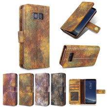 Forest series Man dedicated sFor Samsung Galaxy Note 8 Case Luxury Flip Leather TPU Cases Wallet Cover sFor Samsung Note 8 Cases
