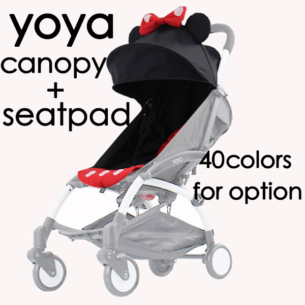 100% ORIGINAL YOYA CANOPY baby stroller mat cusion and roof rack replace set for yoya style stroller pram-in Three Wheels Stroller from Mother u0026 Kids on ...  sc 1 st  AliExpress.com & 100% ORIGINAL YOYA CANOPY baby stroller mat cusion and roof rack ...