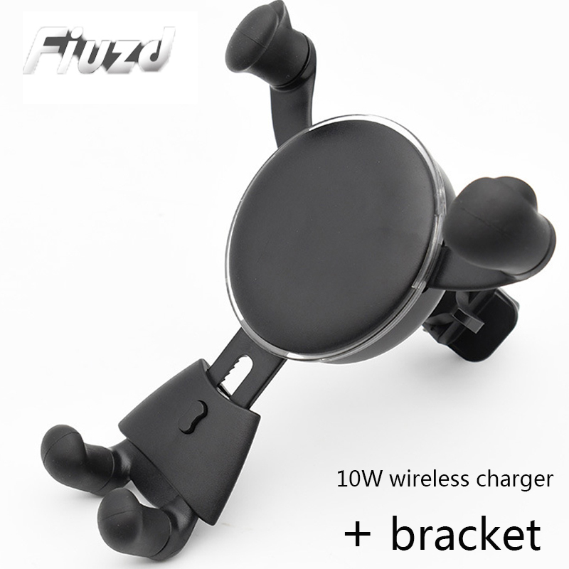 QI Fast Wireless Charger for IPhone X XR XS Max 8 Plus Qi Quick Charge for Samsung MAX s10 9 Note 9 8 S8 S9 Mobile phone holder in Mobile Phone Chargers from Cellphones Telecommunications