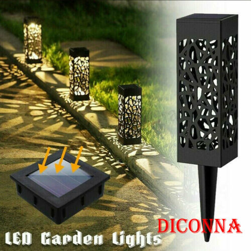 2pcs Solar Garden Torch Lights LED Waterproof Outdoor Landscape Yard Lawn Lamp Light