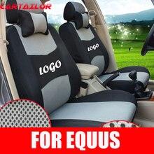 Cartailor полный набор Чехлы подходят для Hyundai Equus Автокресло Обложка салона Набор сэндвич Тюнинг автомобилей мест поддерживает