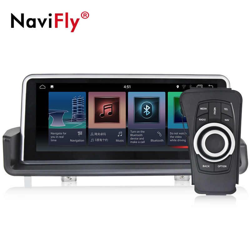 Navi-Fly Android8.1 2G Оперативная память 6 ядро Автомобильный мультимедийный кассетный плеер для BMW E90 E91 E92 E93 2005-2012 с 4g, Wi-Fi, для ipod bt