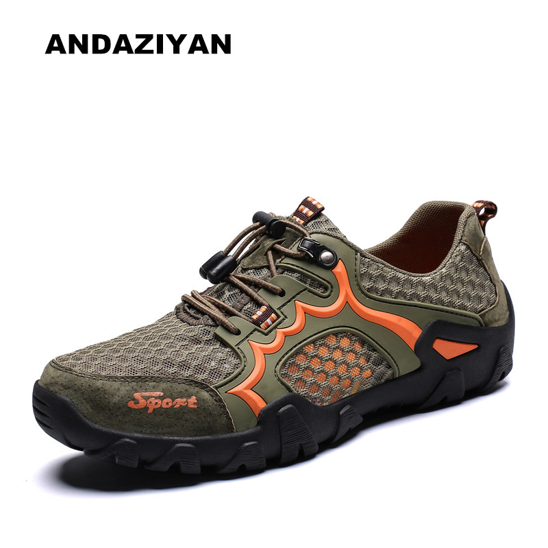 Summer male breathable and odor resistant hollow mesh shoes men in Men 39 s Casual Shoes from Shoes