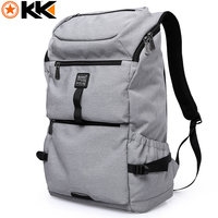 KAKA Oxford Men Backpack Large Capacity 16 Inch Laptop Backpack Multifunction Reflective Stripe Male Notebook School