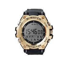 купить news sport watch D-Watch 30M Waterproof Bluetooth Smart Watch Temperature UV monitor Health WristWatch For XiaoMi Android phone по цене 3582.22 рублей