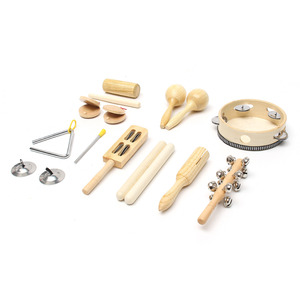 10pcs/Set Wooden Percussion To