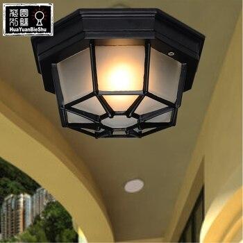 Les Loges Du Park отель наружная лампа потолочный коридор лампы свет FG229
