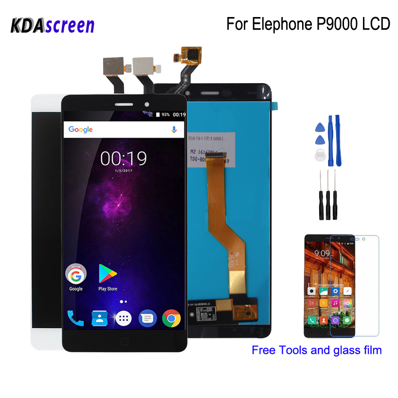 Super For Elephone P9000 LCD Display Touch Screen Replacement Parts For