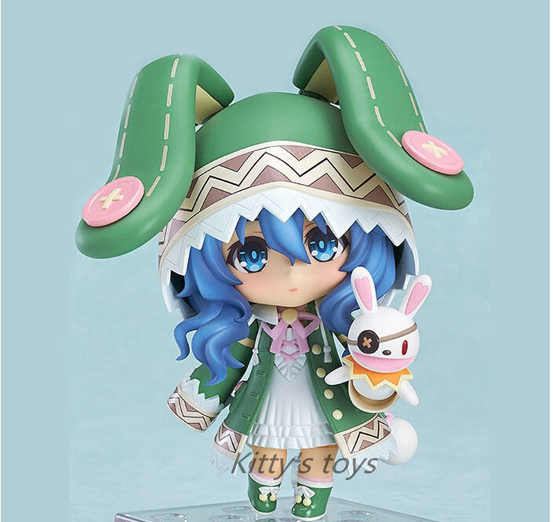 """Cute 10cm Japanese anime Nendoroid 4"""" Date A Live Yoshino PVC Action Figure Collection Model Toy #395"""