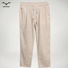 Nueva Llegada Del Verano 2016 de Ropa de Moda Harlan Nueve Pantalones de Cintura Elástica Robe Super Ventilar Hombres Casual Wear Pantalones Pantalones M-5XL