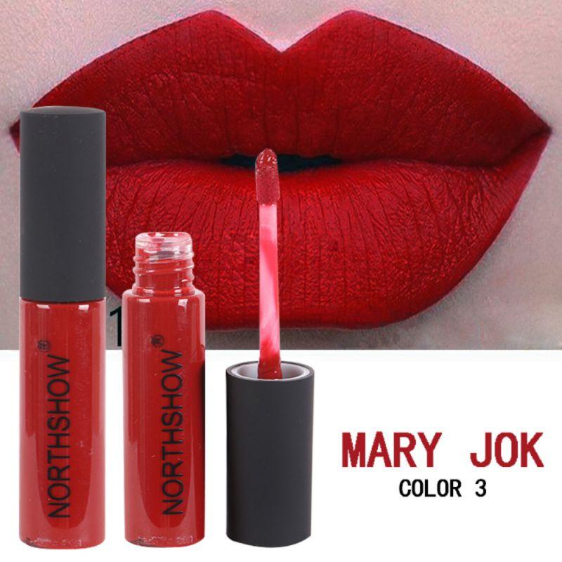 Fashion 12 Colors Beauty Lipstick Matte Lip Gloss Women Waterproof Long Lasting