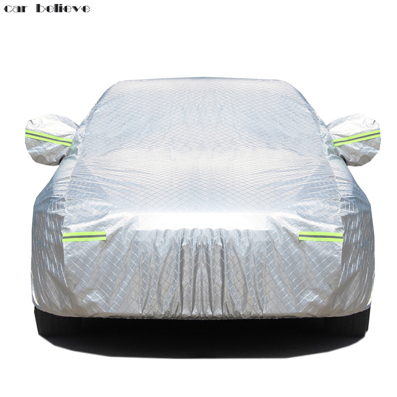 Car Believe Oxford Waterproof Thicken Car Cover For volvo s60 ford focus 2 vw golf 4 passat Sunshade Snow rainproof Car Cover