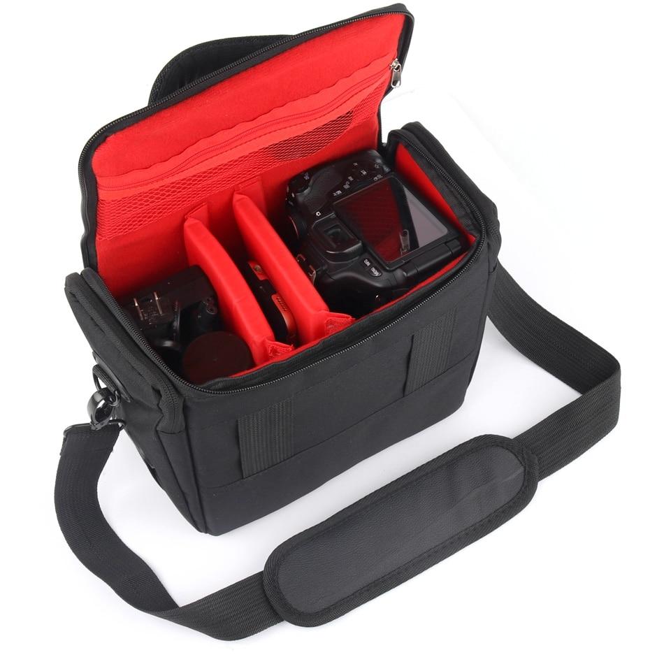 DSLR Camera Bag Photo Bag For Sony alpha A6000 A7RII III A7 Mark ii iii A58 A7R RX10 II III A7II A77 A9 Sony Camera Lens Case