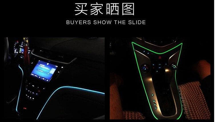 automotive trim. LED light bar. accessories. for BMW X1 X3 X5 X6 X4 M3 M4 M5 M6 325 328 F10 F30 F35 F10 F18 GT E30 E34 E36