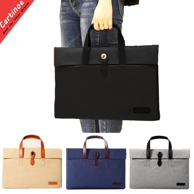 New Fashion Laptop Case 12 13 14 15.6 inch Laptop Bag Notebook Bag for Macbook Air 13 Case Pro 15 Sleeve Cover Handbag Men Women