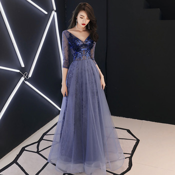 Sexy Chinese Solid Qipao Female V-Neck Chiffon Cheongsam Dress Vestidos Chinos Oriental Wedding Gowns Party Dresses Oversize 3XL