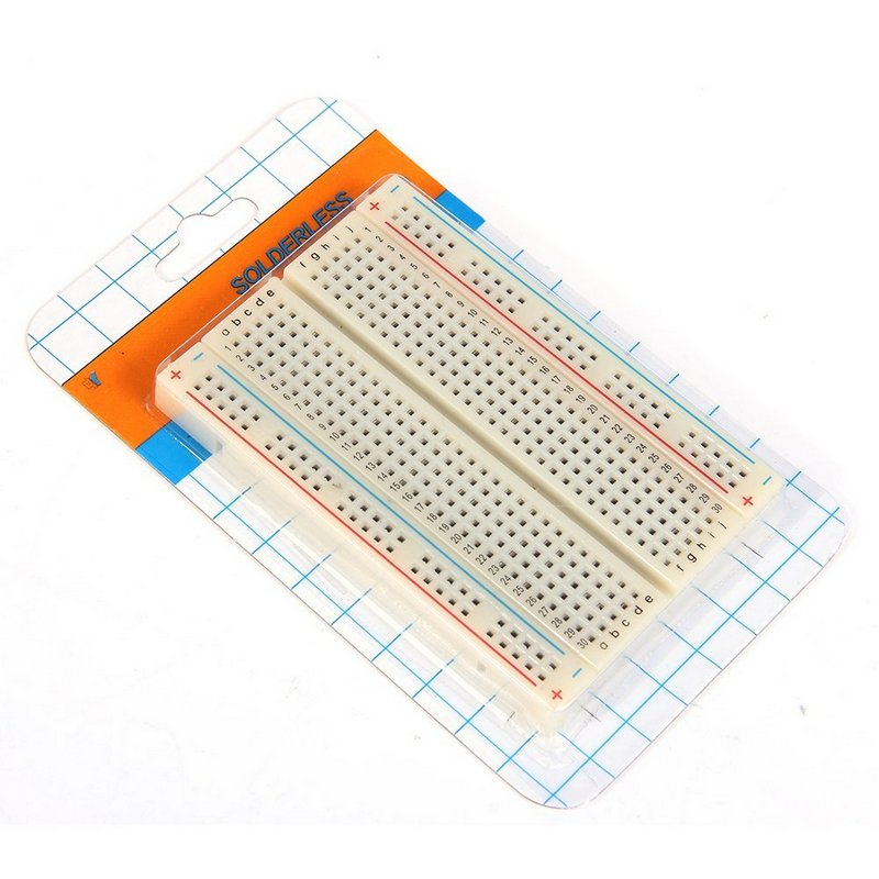 PCB Test Mini Breadboard Bread Board 400 Contacts Available 8.5 X 5.5cm New 8.5*5.5 CM FREE SHUPPING