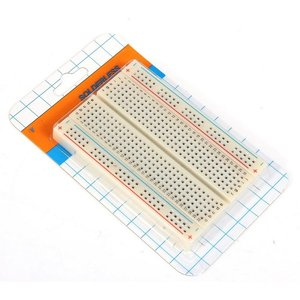 PCB Test Mini Breadboard Bread Board 400 Contacts Available 8.5 x 5.5cm New 8.5*5.5 CM FREE SHUPPING(China)