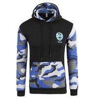 Men Camouflage Stitching Hoodies Sweatshirt Fashiion Men S Camo Hoodie Sweatshirts Casual Hip Hop Slim Fit
