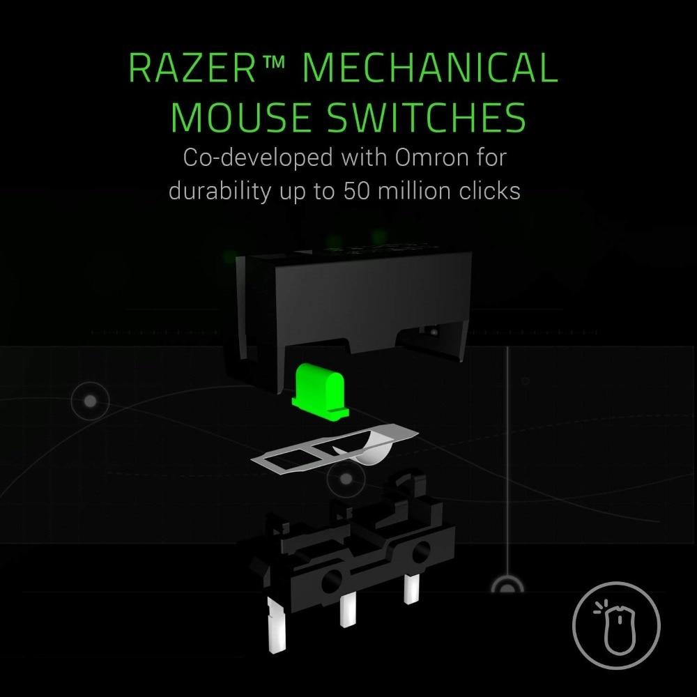 Nouveau Razer Mamba Elite souris de jeu filaire 16000 DPI 5G capteur optique Chroma lumière souris de jeu ergonomique pour PC Gamer ordinateur portable - 5